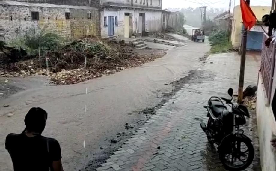 અમરેલી જિલ્લામાં સતત ત્રીજા દિવસે વરસાદ, રાજુલા, જાફરાબાદ તાલુકામાં છુટોછવાયો વરસાદ વરસ્યો|અમરેલી,Amreli - Divya Bhaskar
