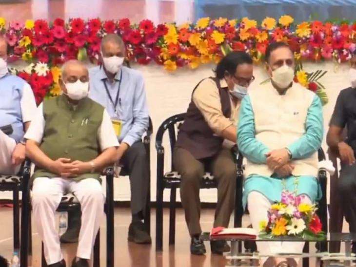 મુખ્યમંત્રી વિજય રૂપાણી સુરતની મુલાકાતે, CMના હસ્તે શહેરના 115મા બ્રિજનું લોકાર્પણ, 'આપ' અને કોંગ્રેસ પર પ્રહાર કર્યા|સુરત,Surat - Divya Bhaskar