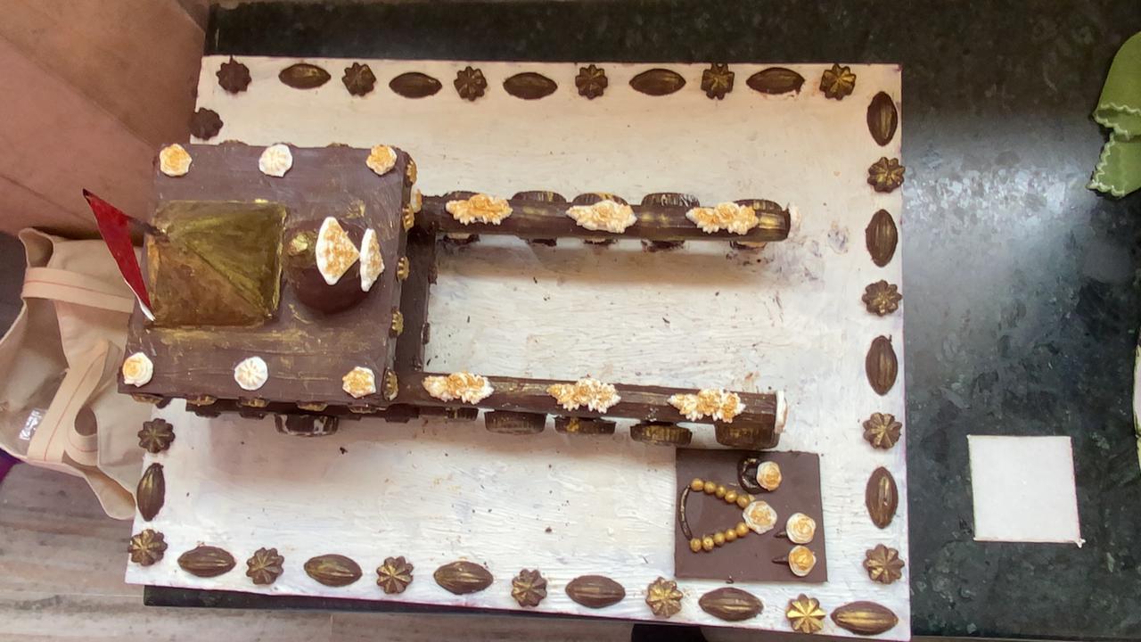 7 કિલો ચોકલેટમાંથી રથ તૈયાર કરાયો