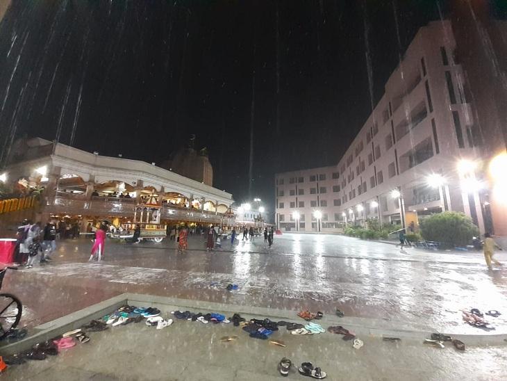 રથયાત્રા પૂર્વે અમદાવાદમાં 2 કલાકમાં 3 ઈંચ વરસાદ, રાજકોટ સહિત રાજ્યના અનેક જિલ્લામાં મેઘ મહેર, તમામ જિલ્લાઓમાં 15મી સુધી વરસાદની આગાહી|અમદાવાદ,Ahmedabad - Divya Bhaskar