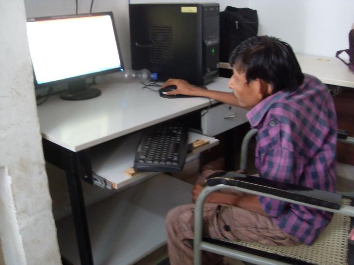 રાજકોટમાં 2009થી ડિસેબલ ITI કાર્યરત - Divya Bhaskar