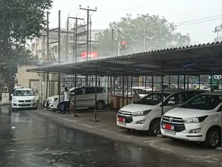 વરસાદના પગલે લોકોને ગરમીમાંથી રાહત અનુભવી