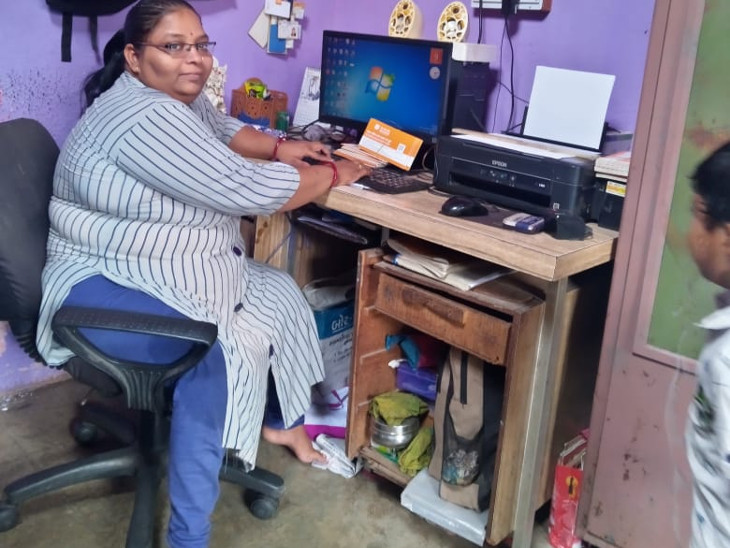 કોમ્પ્યુટરનો કોર્સ કરી મહિલા 5થી 7 હજાર મહિને કમાય છે.