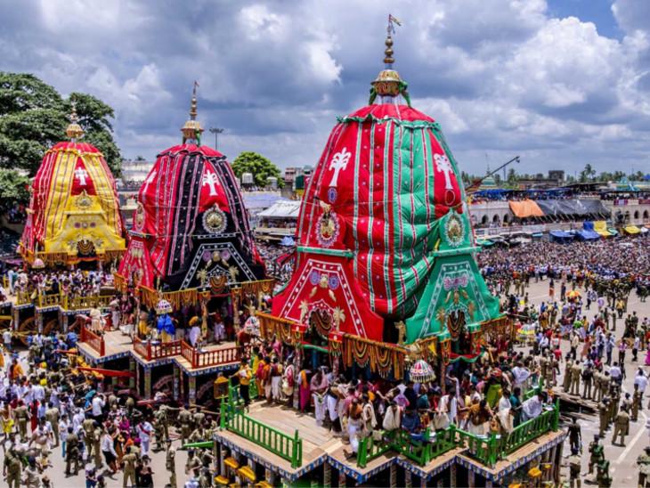અષાઢી બીજ; રથયાત્રાનું મંગળ પર્વ, ભગવાન શ્રીજગનનાથજીની નગરયાત્રા જીવંતતાનું ઉત્તમ પ્રતિક છે|ધર્મ,Dharm - Divya Bhaskar