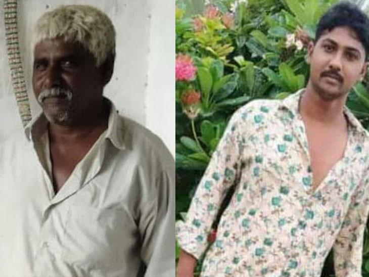ડાબે પિતા અને જમણે પુત્રની તસવીર - Divya Bhaskar