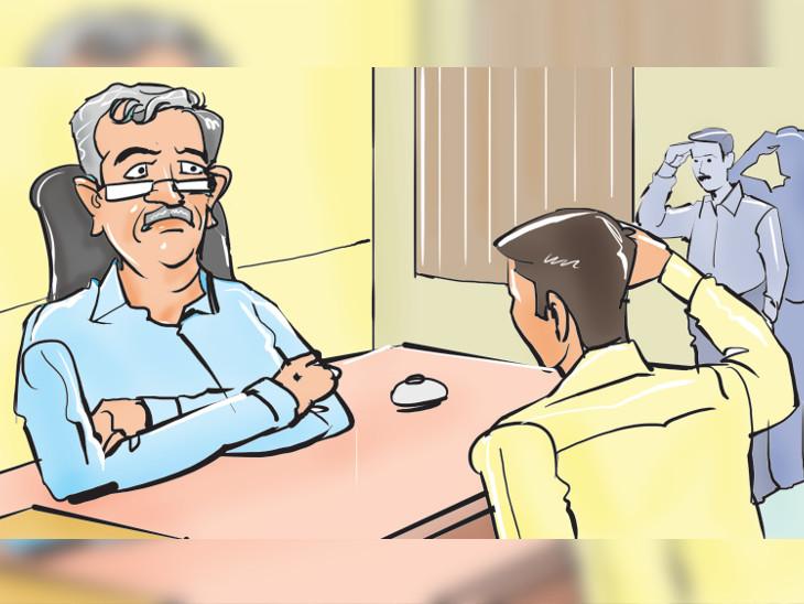 કલેક્ટરો... નવા સાહેબને સલામ કરો; હસમુખ અઢિયાને મોદી મંત્રી બનાવશે એવી અફવા ઉડાવાઈ|અમદાવાદ,Ahmedabad - Divya Bhaskar