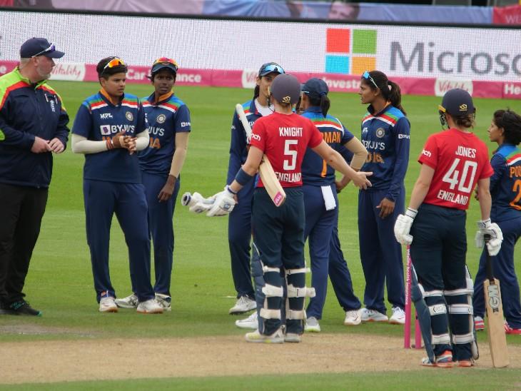 ઈન્ડિયન ટીમની ખેલાડી દીપ્તિએ ગેમની દિશા બદલી નાખી હતી