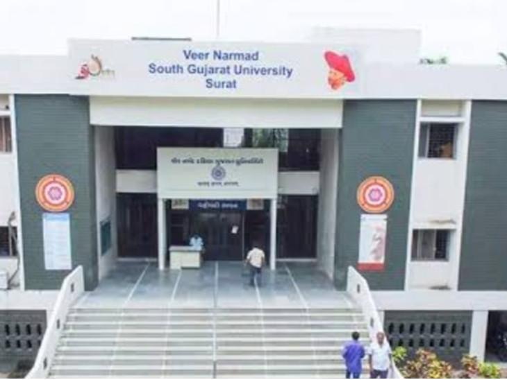 નર્મદ યુનિવર્સિટીની પરીક્ષાની તારીખો જાહેર કરવામાં આવી હતી.(ફાઈલ તસવીર) - Divya Bhaskar