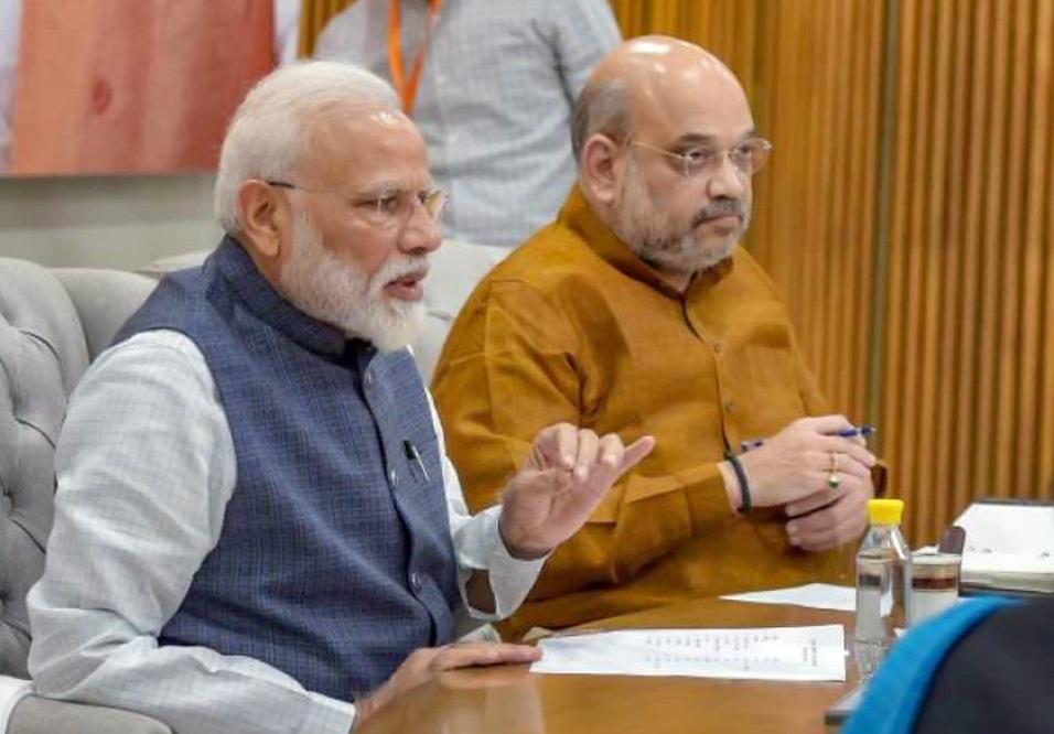 PM મોદી અને ગૃહમંત્રી અમિત શાહની ફાઈલ તસવીર.