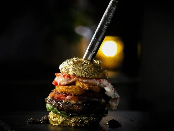 આ છે દુનિયાનું સૌથી મોંઘું બર્ગર 'ધ ગોલ્ડન બોય', કિંમત 4.44 લાખ રૂપિયા; બર્ગરની મસમોટી કિંમત શા માટે છે જાણો|લાઇફસ્ટાઇલ,Lifestyle - Divya Bhaskar