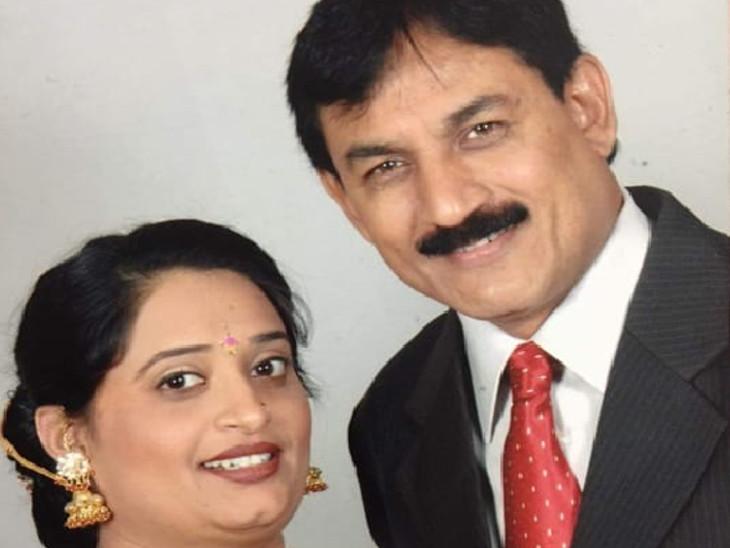 કોંગ્રેસના વરિષ્ઠ નેતા ભરતસિંહ સોલંકી અને પત્ની રેશમાબેનની ફાઇલ તસવીર - Divya Bhaskar