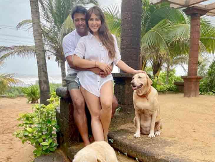 એક્ટ્રેસ કિમ શર્મા-લિએન્ડર પેસ ગોવામાં વેકેશન મનાવી રહ્યાં છે, બંને વચ્ચે અફેર હોવાની ચર્ચા|બોલિવૂડ,Bollywood - Divya Bhaskar