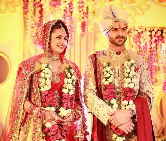 शादी के बाद दिव्यांका और विवेक