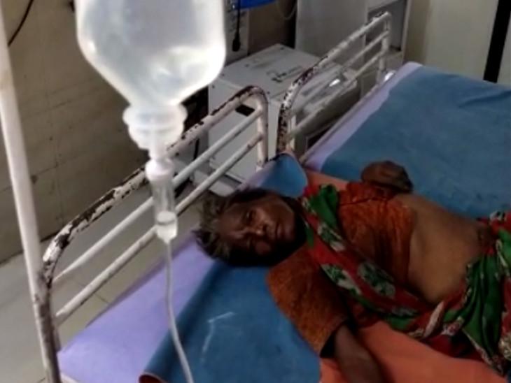 સિવિલ હોસ્પિટલમાં સારવાર શરૂ કરવામાં આવતાં મહિલાની હાલત સ્થિર છે.