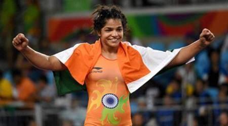 રિઓ ઓલિમ્પિકમાં સાક્ષી મલિક પ્રથમ મહિલા વ્રેસ્ટલર બની