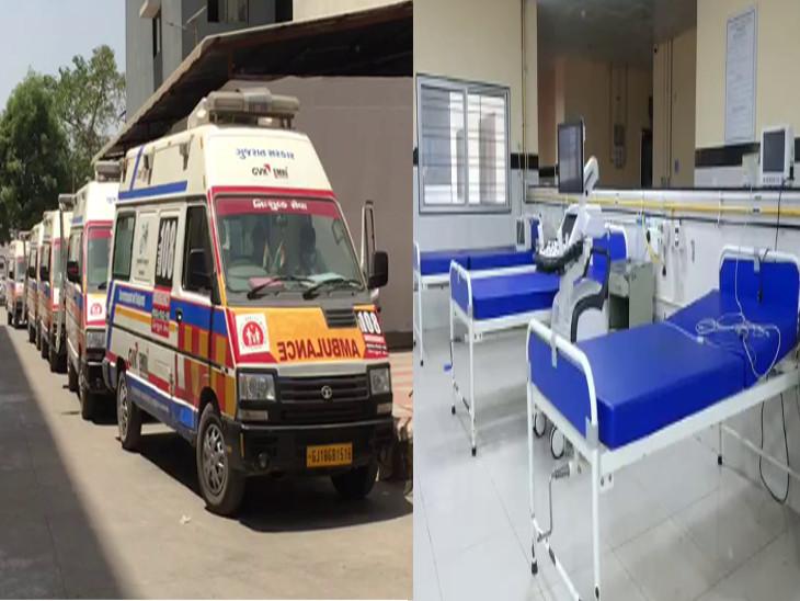રાજકોટ સિવિલ કોરોના મુક્ત બની, બીજી લહેરમાં પોઝિટિવ કેસની લાઈન લાગતી હતી, આજે એક પણ કોરોનાનો દર્દી એડમિટ નથી|રાજકોટ,Rajkot - Divya Bhaskar