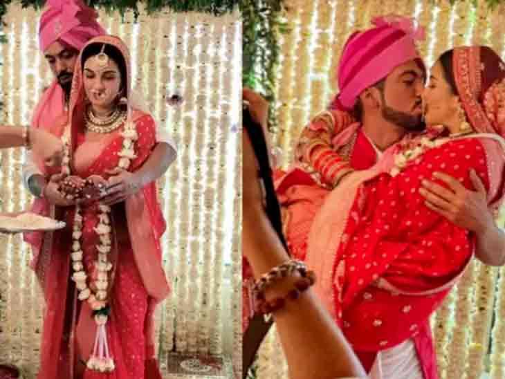 ટીવી સિરિયલ 'પંડ્યા સ્ટોર' ફૅમ અમદાવાદી શાઈની દોશીએ ઘરમાં જ પ્રેમી સાથે લગ્ન કર્યાં, લગ્નમંડપમાં કરી કિસ|ટીવી,TV - Divya Bhaskar