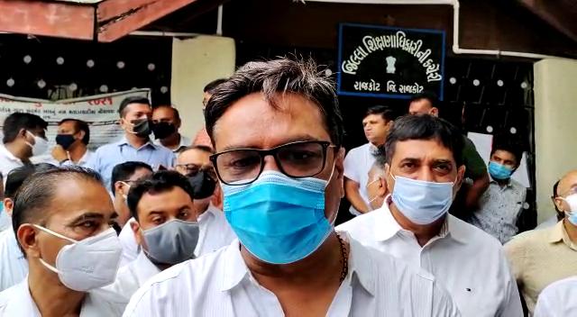 ગુજરાત સ્વનિર્ભર શાળા સંચાલક મંડળના ઉપપ્રમુખ જતીન ભરાડ