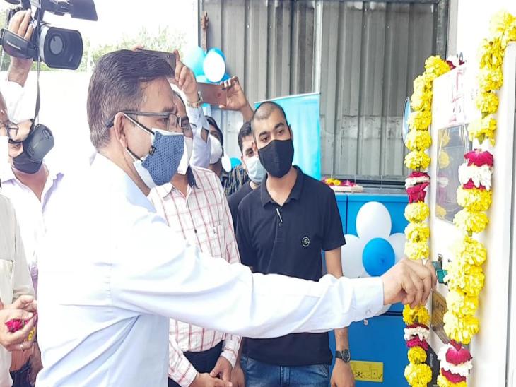 ભરૂચની ગોવર્ધન રૂગણાલય ખાતે ઓક્સિજન પ્લાન્ટ કાર્યરત કરાયો|ભરૂચ,Bharuch - Divya Bhaskar