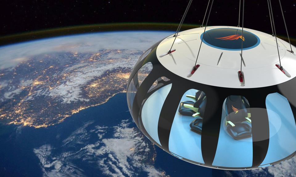 કંપનીના જણાવ્યા પ્રમાણે સ્પેસ ટ્રાવેલ કરવા માટે કોઈ ખાસ કપડાં કે તૈયારીની આવશ્યકતા નહિ રહે. ફોટો સાભાર: સ્પેસ પર્સપેક્ટિવ