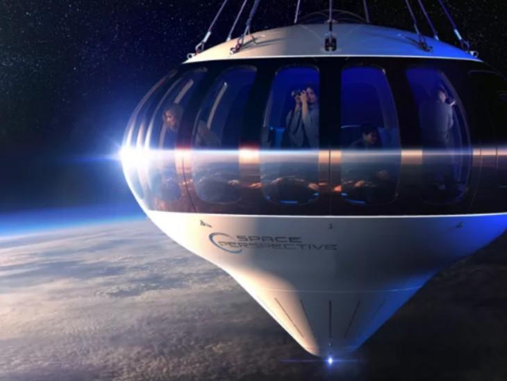 સ્પેસ કેપ્સૂલને 30 કિલોમીટરનાં અંતરે પહોંચવા માટે 2 કલાકનો સમય લાગે છે. રિટર્નમાં તેને પાણીમાં ઉતારવામાં આવશે.