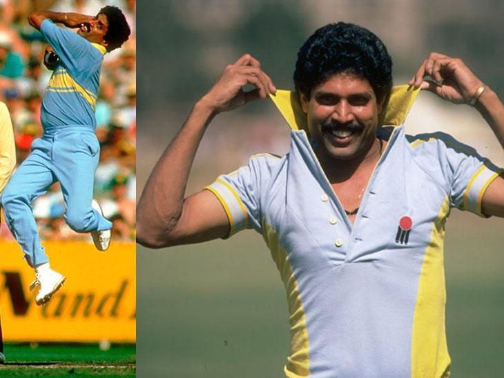 કપિલ દેવે આંતરરાષ્ટ્રીય ક્રિકેટના બંને ફોર્મેટમાં કુલ 687 વિકેટ લીધી છે