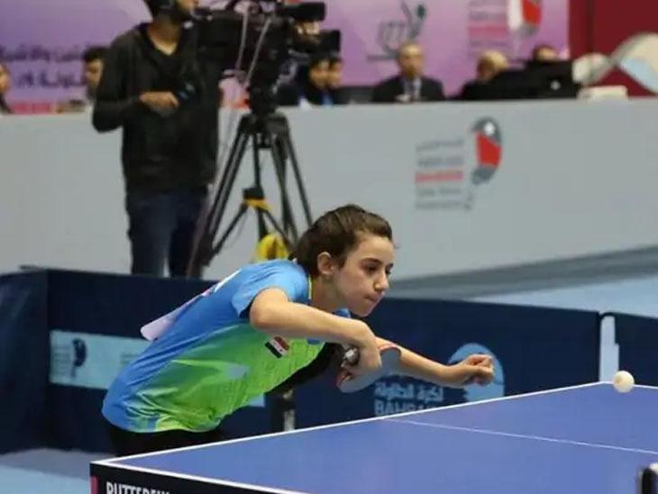 हैंड ज़ाज़ा पाँच साल की उम्र से टेबल टेनिस खेल रहे हैं।