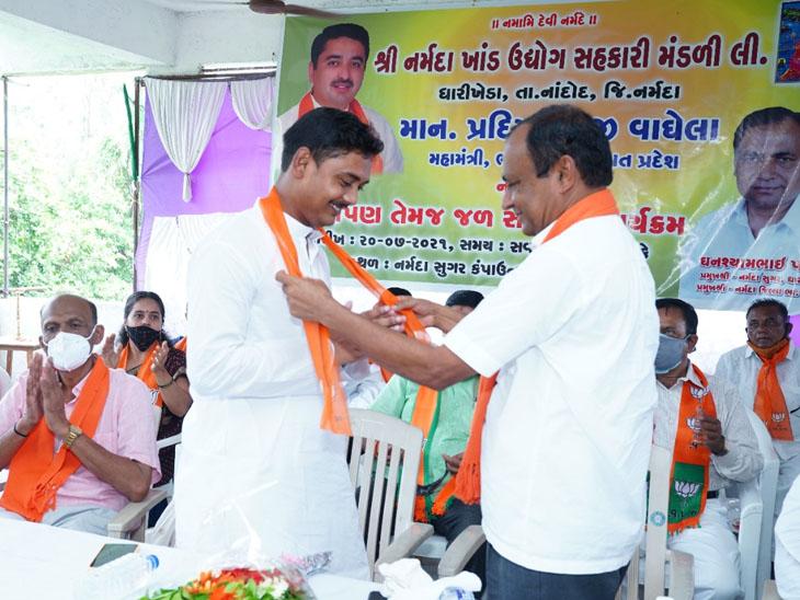 પશ્ચિમ બંગાળના નેતા વૃંદાવન સરકારે મમતા સરકાર પર મોટા આક્ષેપો કર્યાં|રાજપીપળા (નર્મદા),Rajpipla (Narmada) - Divya Bhaskar