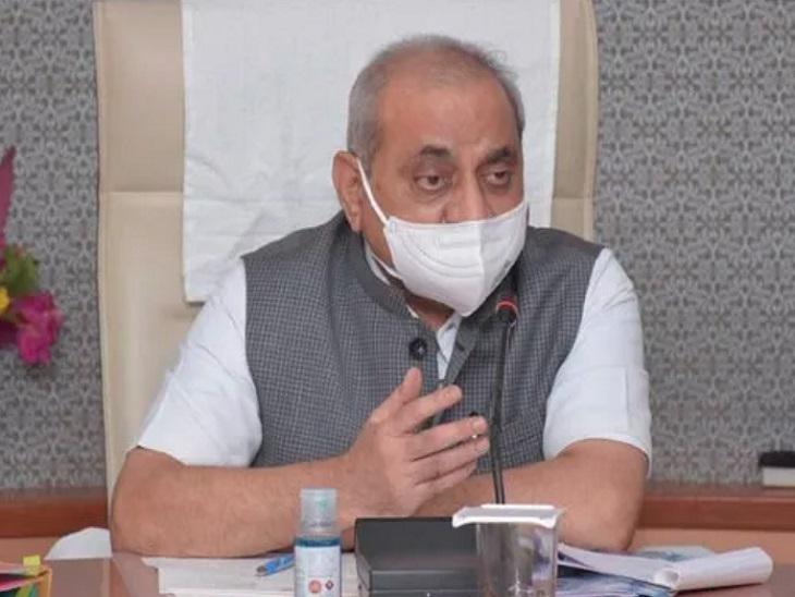નાયબ મુખ્યમંત્રી નીતિન પટેલની ફાઈલ તસવીર. - Divya Bhaskar