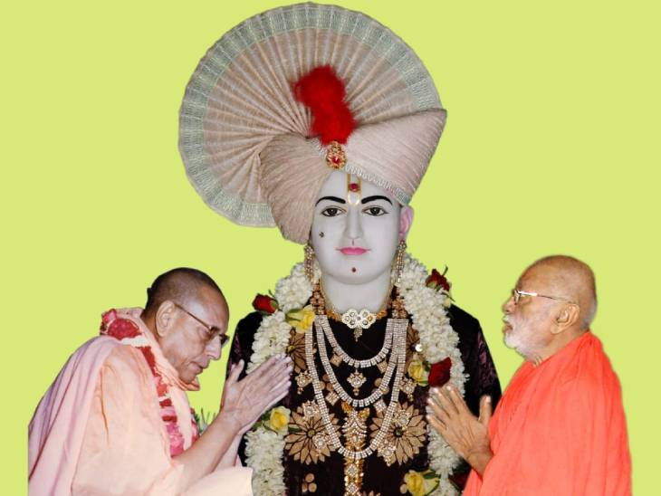 અમદાવાદમાં મણિનગર ખાતેના સ્વામિનારાયણ કુમકુમ મંદિરમાં શનિવારે ગુરૂ પૂર્ણિમા મહોત્સવ ઉજવાશે|અમદાવાદ,Ahmedabad - Divya Bhaskar
