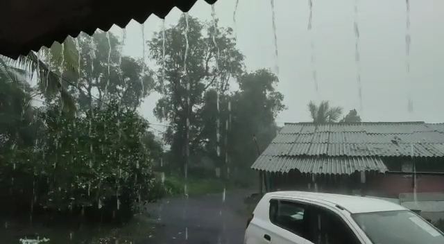 વલસાડના કપરાડામાં ચાર કલાકમાં સાડા ત્રણ ઈંચ વરસાદ, ઉપરવાસમાં વરસાદના પગલે કોલક, પાર અને મઘુબન નદીમાં પાણીની ભરપૂર આવક વલસાડ,Valsad - Divya Bhaskar