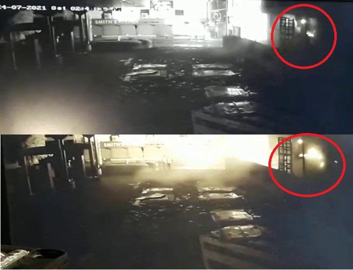 સમગ્ર ઘટનાના CCTV ફૂટેજ સામે આવ્યા.