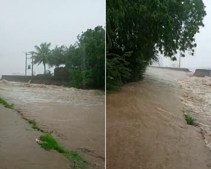 માણાવદરમાં વરસાદ બાદ રસ્તા પર જાણે નદીઓ વહેતી હોય એવા દ્રશ્યો સર્જાયા