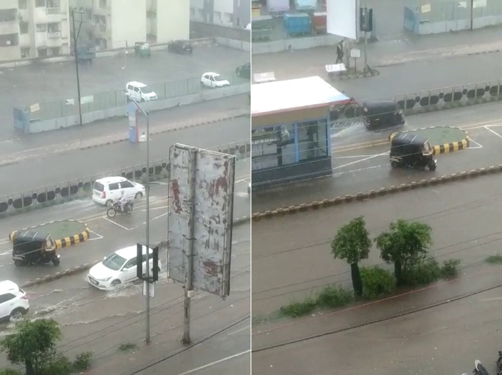 1 કલાકમાં 2 ઈંચ વરસાદથી રાજકોટ પાણી-પાણી થયું