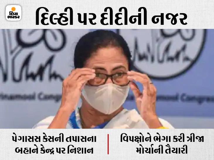 મમતા બેનર્જીએ ન્યાયિક તપાસ કમિશનની રચના કરી, બંગાળ આવું કરનાર પ્રથમ રાજ્ય; દીદી 4 દિવસના દિલ્હી પ્રવાસે ઈન્ડિયા,National - Divya Bhaskar