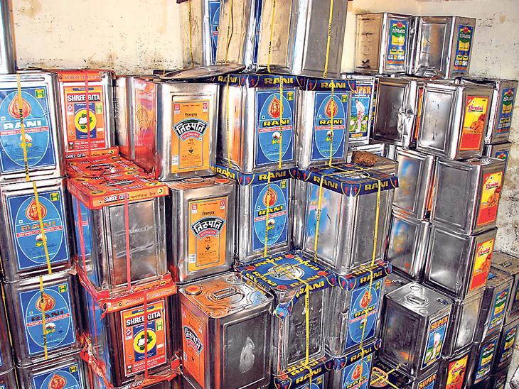 તહેવાર પહેલા સંગ્રહખોરી, તેલમાં રૂ.190નો વધારો, લોકોને મોંઘું ફરસાણ ખરીદવું પડશે રાજકોટ,Rajkot - Divya Bhaskar