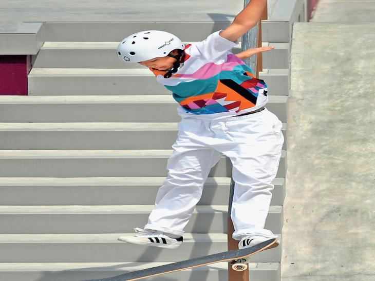 મેડલ જીતવો એ 'બાળરમત': 13 વર્ષની નિશિયા- ઓલિમ્પિક ગોલ્ડ, 13 વર્ષની રેયસા- સિલ્વર અને 16 વર્ષની ફુના બ્રોન્ઝ મેડલ વિજેતા|ટોક્યો ઓલિમ્પિક,Tokyo Olympics - Divya Bhaskar