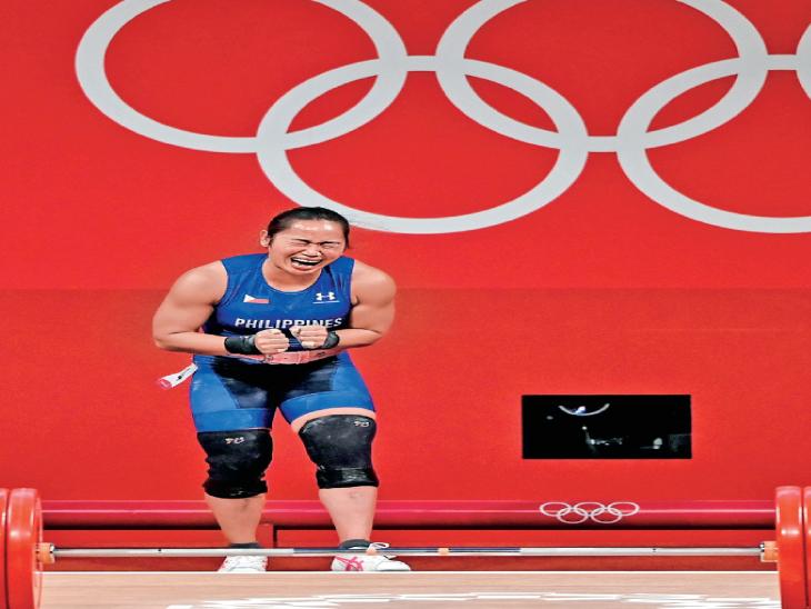 બરમુડા અને ફિલિપીન્સને પહેલો ઓલિમ્પિક ગોલ્ડ મહિલા ખેલાડીઓએ અપાવ્યો|ટોક્યો ઓલિમ્પિક,Tokyo Olympics - Divya Bhaskar