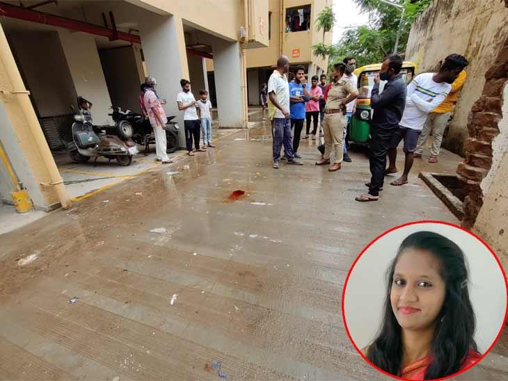 અમદાવાદમાં એક તરફી પ્રેમમાં પાગલ પ્રેમીના ત્રાસથી પરિણીતાનો 7મા માળેથી કૂદીને આપઘાત, ઘરમાંથી હાથ પકડીને પ્રેમી પરિણીતાને લઈ જતો|અમદાવાદ,Ahmedabad - Divya Bhaskar