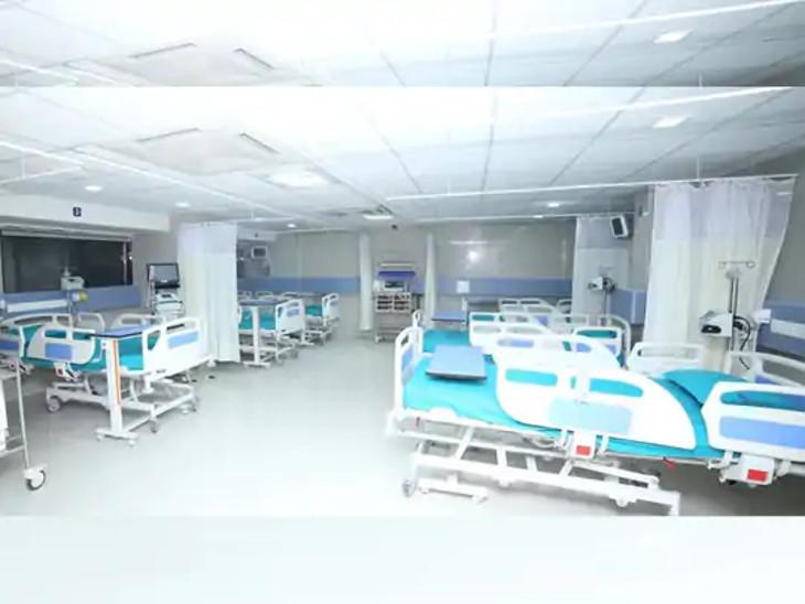 સિવિલ હોસ્પિટલમાં બેડ વધારવાની કામગીરી શરૂ.