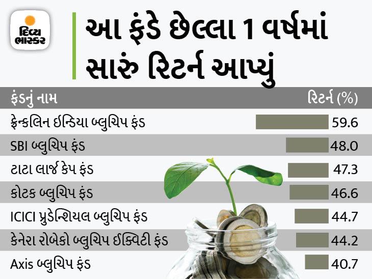 FD કરતા વધારે રિટર્ન જોઈતું હોય તો લાર્જ કેપ ફંડ્સમાં રોકાણ કરો, છેલ્લા 1 વર્ષમાં 60% સુધી રિટર્ન આપ્યું|યુટિલિટી,Utility - Divya Bhaskar