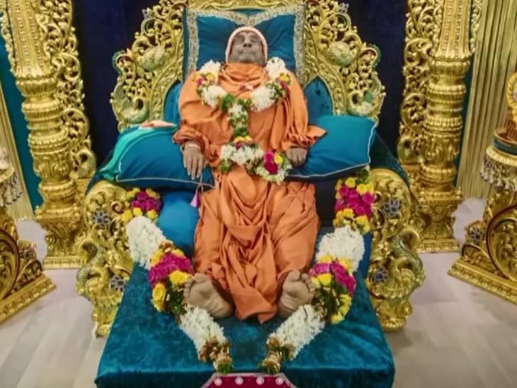 હરિપ્રસાદ સ્વામીજી નશ્વરદેહના અંતિમ દર્શન માટે ત્રીજા દિવસે પણ ભક્તોનું ઘોડાપુર ઉમટ્યું