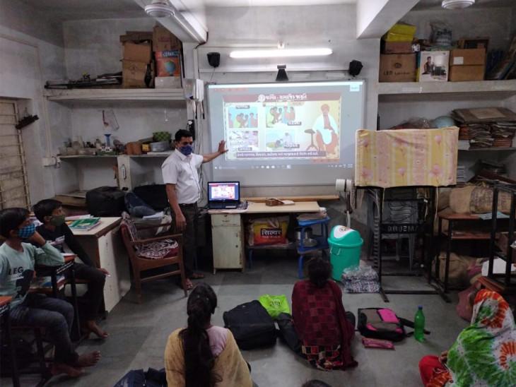 જ્ઞાનકુંજ પ્રોજેકટ વડોદરા જિલ્લાની 140 શાળાઓમાં કાર્યરત કરવામાં આવ્યો છે - Divya Bhaskar