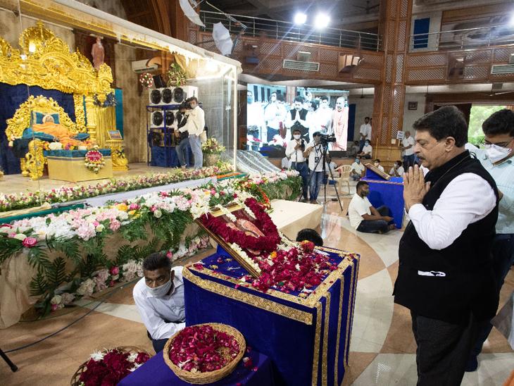 રાજેન્દ્ર ત્રિવેદી અધ્યક્ષ, ગુજરાત વિધાનસભા.