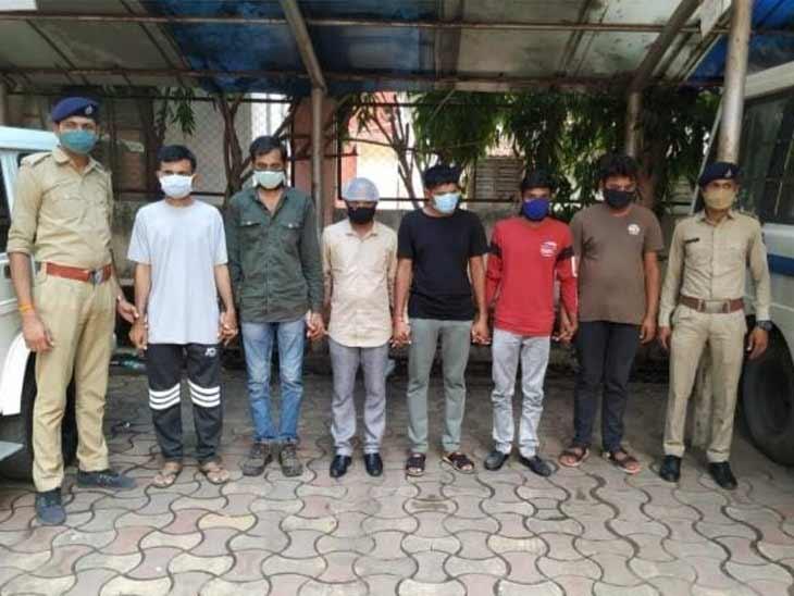 અમદાવાદ સાયબર ક્રાઇમે ચાઇનાથી ઓપરેટ થતી ગેંગના ભારતના 7 સાગરિતોને ઝડપ્યા, 28 હજાર લોકો પાસેથી કરોડો રૂપિયા ઉઘરાવ્યાં|અમદાવાદ,Ahmedabad - Divya Bhaskar