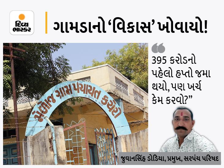 શહેરોનો કરોડોના ખર્ચે વિકાસ, એક વર્ષથી 18,500 ગામડાંનો વિકાસ એક 'કી'ને કારણે અટવાયો, ચૂંટણી નજીક હોવાથી સરપંચોમાં આક્રોશ ઓરિજિનલ,DvB Original - Divya Bhaskar