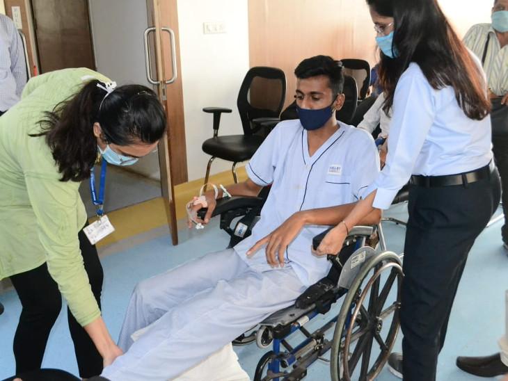 રમતવીરો અને સ્પોર્ટ્સ પર્સનને નજીકમાં જ સારવારની સુવિધા મળી રહેશે - Divya Bhaskar