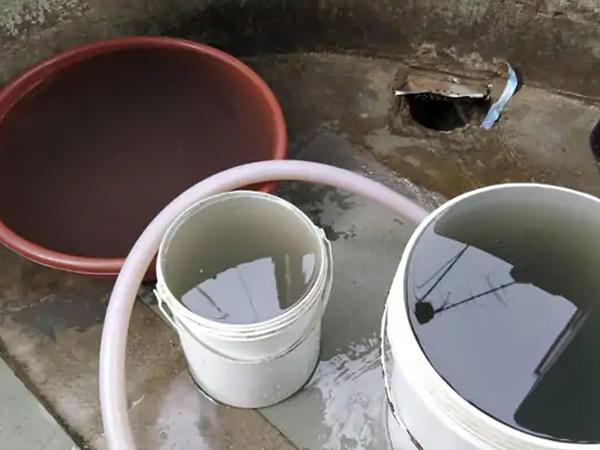 ગંદા પાણીની ફાઇલ તસવીર. - Divya Bhaskar