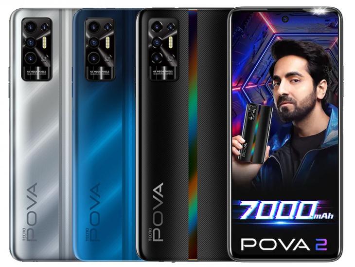 'ટેક્નો પોવા 2'માં 7000mAhની જમ્બો બેટરી મળશે, નોનસ્ટોપ 10 દિવસ સુધી મ્યુઝિક સાંભળી શકાશે|ગેજેટ,Gadgets - Divya Bhaskar