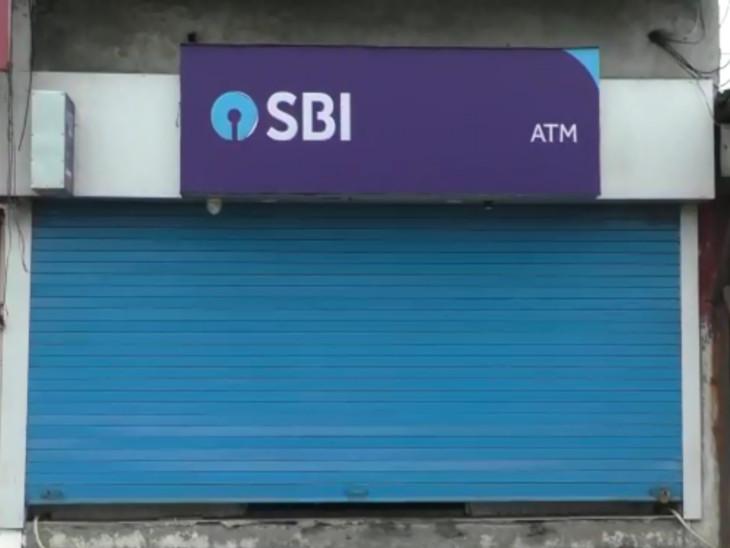 તાંતીથૈયા ગામની સીમમાં કડોદરા બારડોલી રોડ પરના ATMમાં ચોરી.